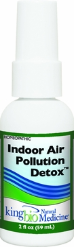 Allergy Detox Indoor Air Pollution by King Bio - 2oz.