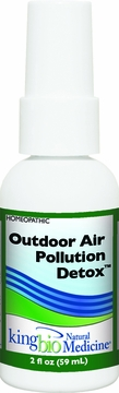 Allergy Detox Outdoor Pollution by King Bio - 2oz.
