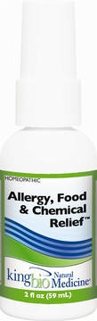 Allergy/Food/Chemical Relief by King Bio - 2oz.