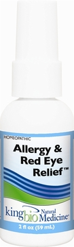 Allergy/Red Eye Relief by King Bio - 2oz.