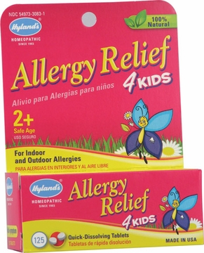 Allergy Relief 4 Kids by Hylands - 125 Count
