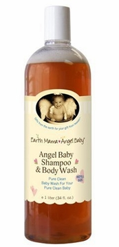 Angel Baby Shampoo and Body Wash by Earth Mama Angel Baby - 34oz.