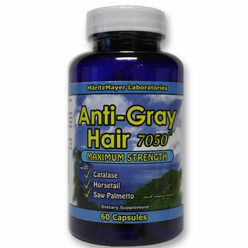 Anti-Gray Hair 7050 by MaritzMayer Laboratories - 60 Capsules