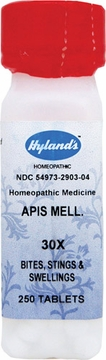 Apis Mellifica 30X by Hylands - 250 Tablets
