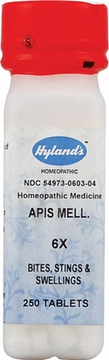 Apis Mellifica 6X by Hylands - 250 Tablets