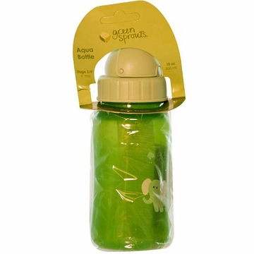Aqua Bottle Green by Green Sprouts - 10oz.