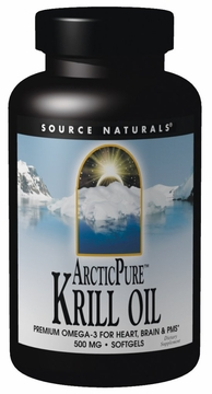 Source Naturals ArcticPure Krill Oil 500 mg - 120 Softgels