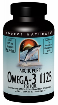 Source Naturals ArcticPure Omega-3 1125 Fish Oil 1125mg - 60 Softgels