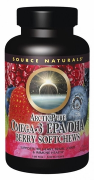 Source Naturals ArcticPure Omega-3 EPA/DHA Berry 155 mg - 50 Softchews