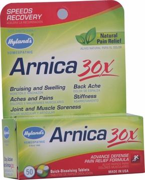 Arnica 30x by Hylands - 50 Tablets