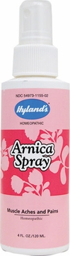 Arnica Lotion Spray by Hylands - 4oz.