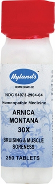 Arnica Montana 30X by Hylands - 250 Tablets