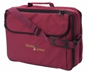 Young Living Aroma Kit Soft Case Burgundy Holds 130 Oils - 1 Unit