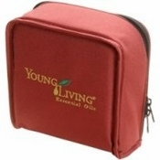 Young Living Aroma Kit Soft Case Burgundy Holds 16 Oils - 1 Unit