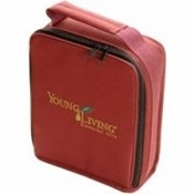 Young Living Aroma Kit Soft Case Burgundy Holds 30 Oils - 1 Unit