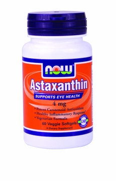 Now Foods Astaxanthin 4 mg - 60 Softgels