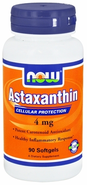 Now Foods Astaxanthin 4 mg - 90 Softgels