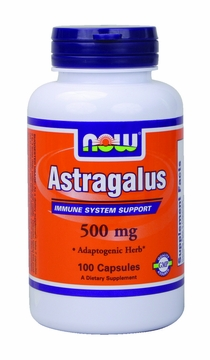 Now Foods Astragalus 500 mg - 100 Capsules