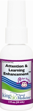 Attention/Learn Enhancement by King Bio - 2oz.