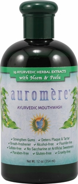 Ayurvedic Mouthwash by Auromere - 12oz.