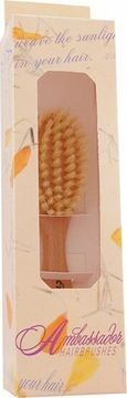 Fuchs Ambassador Baby Natural Bristle Wood Hairbrush