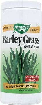 Barley Grass Bulk Powder by Nature's Way - 9oz.