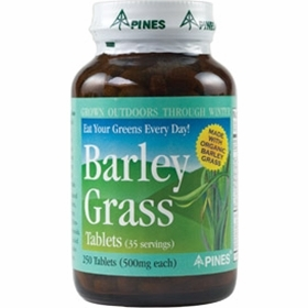 Pines International Barley Grass 500 mg - 250 Tablets