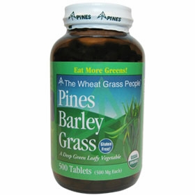 Pines International Barley Grass 500 mg - 500 Tablets