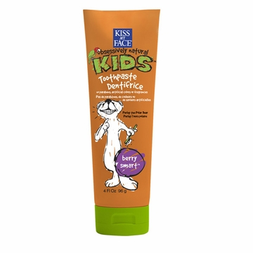 Kiss My Face Berry Treasure Toothpaste without Fluoride - 4 Ounces