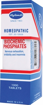 Biochemic Phosphates by Hylands - 1000 Tablets