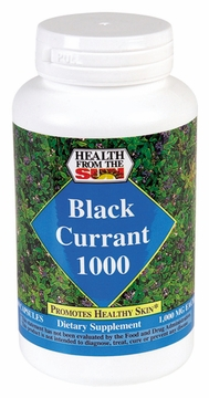 Health From The Sun Black Currant Oil 1000 mg - 60 Softgels