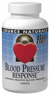 Source Naturals Blood Pressure Response - 30 Tablets