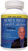 Bob's Best Coral Calcium  2000 mg by Bob Barefoot - 90 Caplets