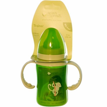 Bottle Trainer Stage 3 Plus Green by Green Sprouts - 8oz.