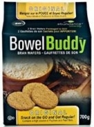 Bowel Buddy Fiber Bran Wafers by Abundance - 28 Wafers