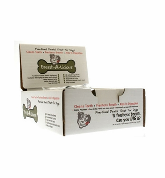 Breath-A-Licious Large Bone Case by Dancing Paws - 2oz./24 Bones