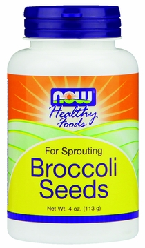 Now Foods Broccoli Seeds - 4 Ounces