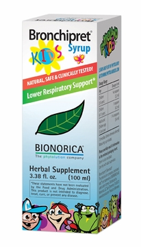 Bronchipret Kids Syrup by Bionorica - 3.38oz.