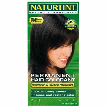 Naturtint Hair Colourants 2N (Brown Black) - 5.28 Fluid Ounces