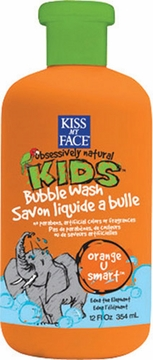 Kiss My Face Orange U Smart Bubble Wash - 12 Ounces