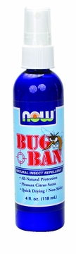 Now Foods Bug Ban Spray - 4 Fluid Ounces
