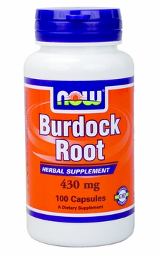 Now Foods Burdock Root 430 mg - 100 Capsules