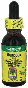 Burdock Root Alcohol Free by Nature's Answer - 1oz.