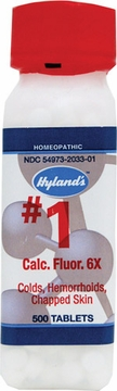 Calcarea Fluorica 6X by Hylands - 500 Tablets