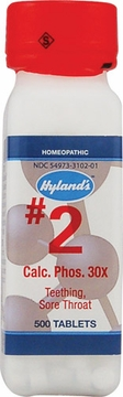 Calcarea Phosphorica 30x by Hylands - 500 Tablets