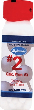 Calcarea Phosphorica 6X by Hylands - 500 Tablets