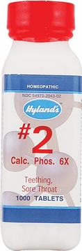 Calcium Phosphate 6X by Hylands - 1000 Tablets