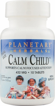 Planetary Herbals Sample Calm Child 432 mg - 10 Tablets