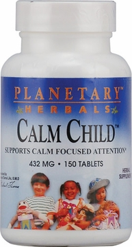 Planetary Herbals Calm Child 432 mg - 150 Tablets
