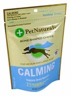 Pet Naturals of Vermont Calming for Medium & Large Dogs-21 Soft Chews